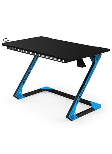 Xrocg Gaming Gator S-115 Mavi-Siyah Oyuncu Masası Mavi